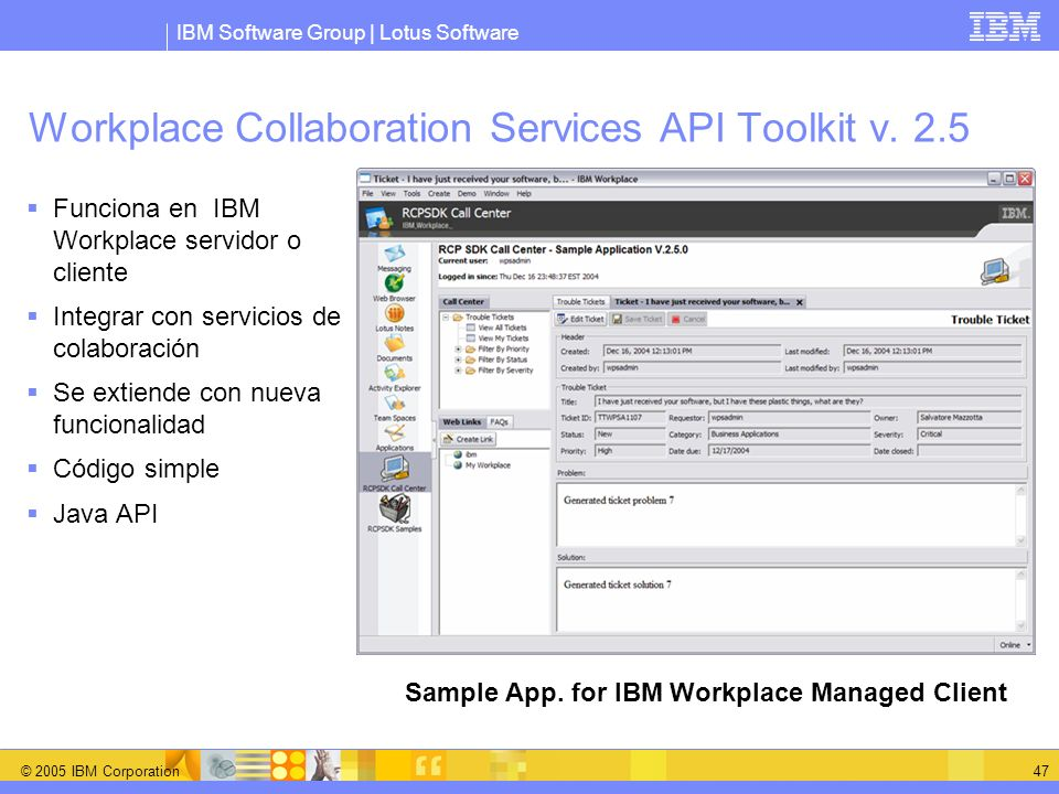 Workplace Collaboration Services API Toolkit v. 2.5