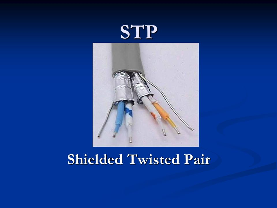 STP Shielded Twisted Pair
