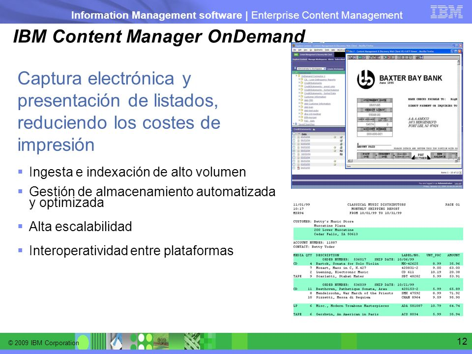 IBM Content Manager OnDemand