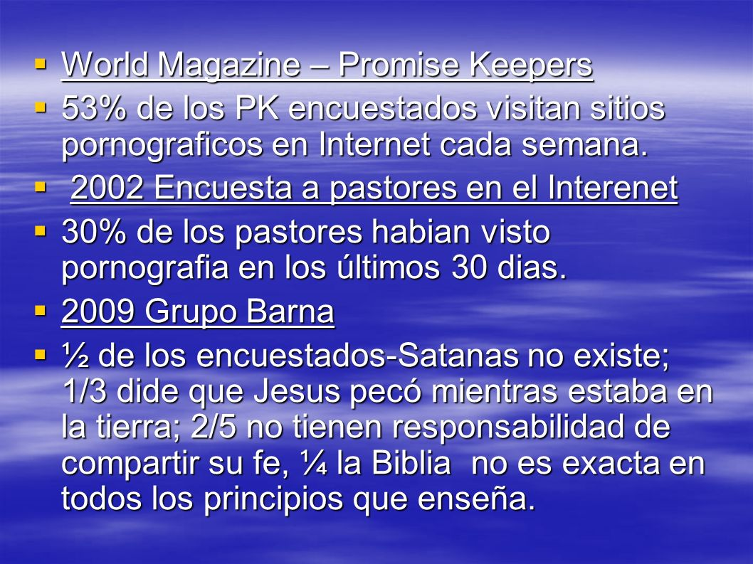 World Magazine – Promise Keepers