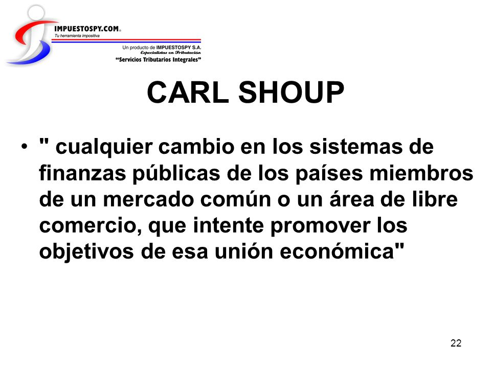 CARL SHOUP