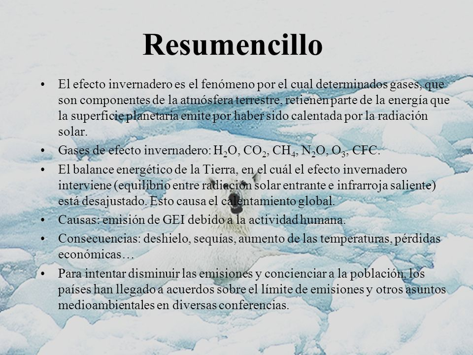Resumencillo