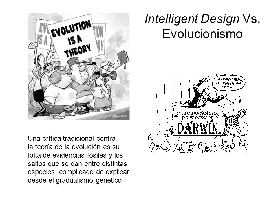 Intelligent Design Vs. Evolucionismo