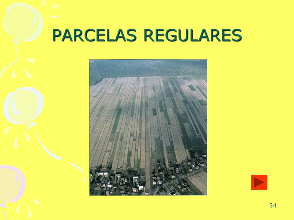PARCELAS REGULARES