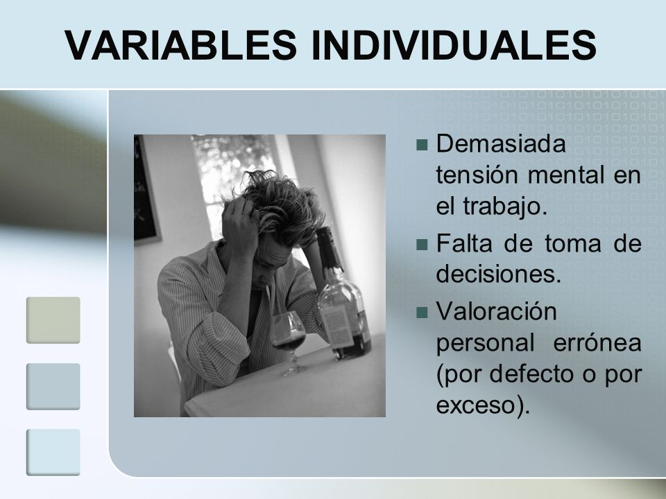VARIABLES INDIVIDUALES