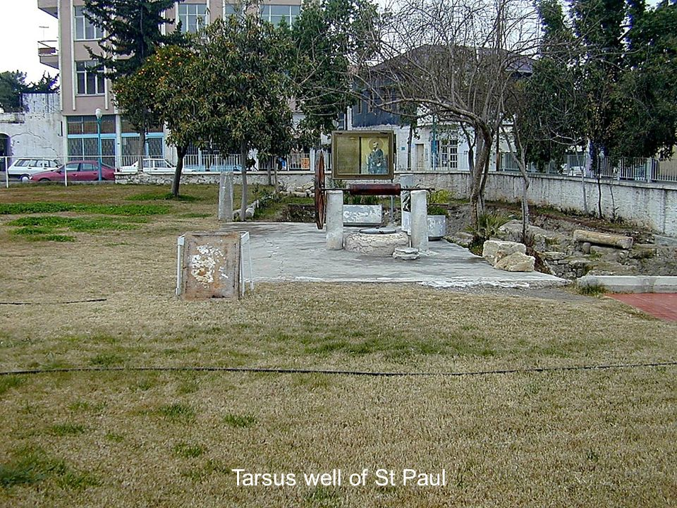 Tarsus well of St Paul Tarsus well of St Paul