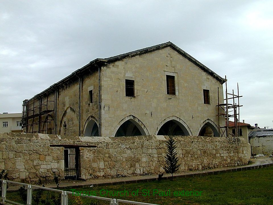 Tarsus Church of St Paul exterior