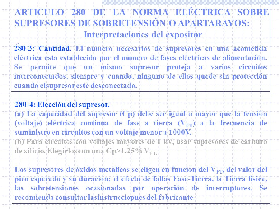 Interpretaciones del expositor
