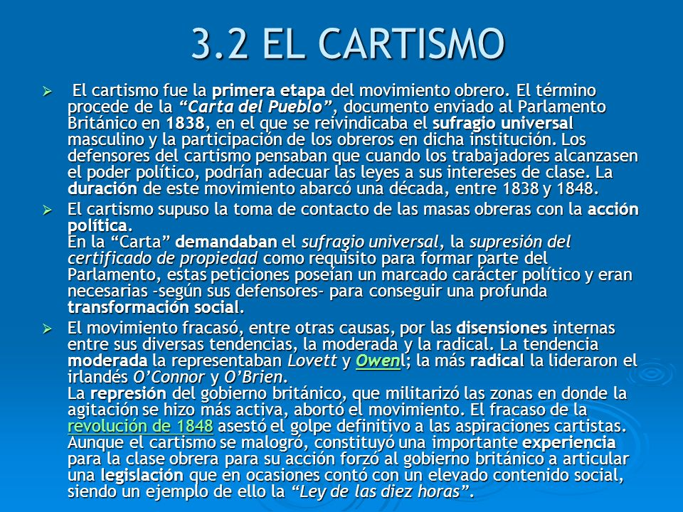 3.2 EL CARTISMO