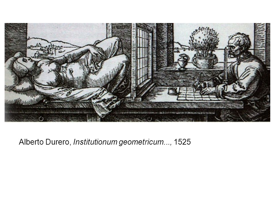 Alberto Durero, Institutionum geometricum..., 1525