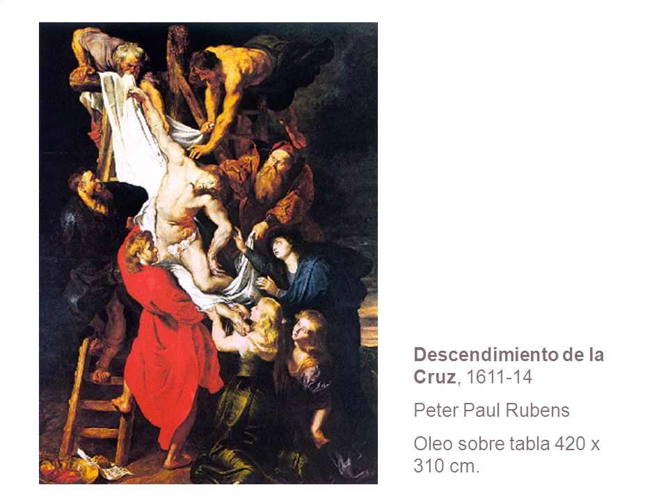 Descendimiento de la Cruz,
