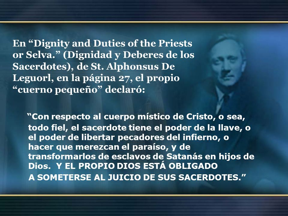 En Dignity and Duties of the Priests or Selva