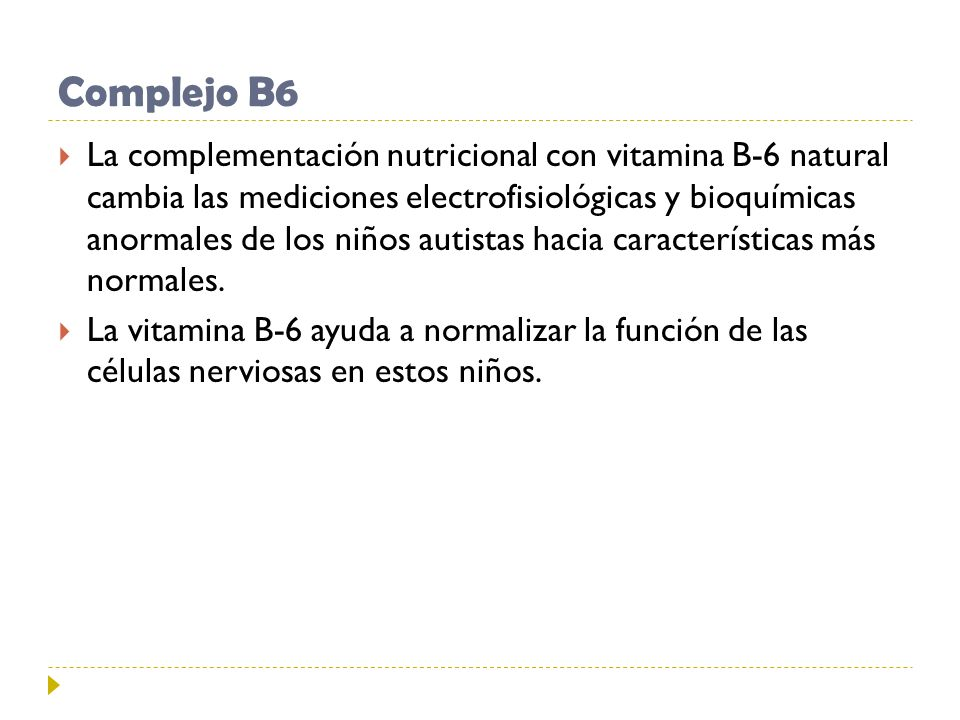 Complejo B6