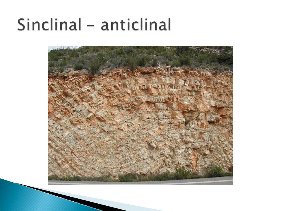 Sinclinal - anticlinal