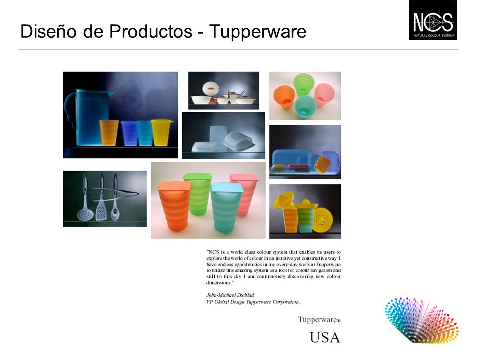 Diseño de Productos - Tupperware
