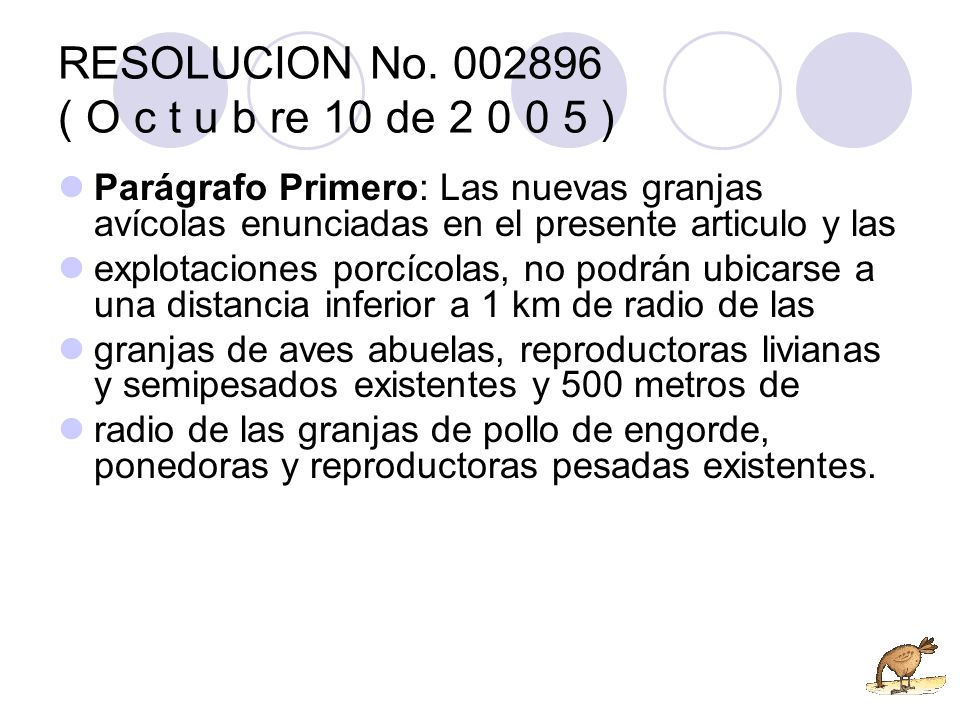RESOLUCION No. 002896 ( O c t u b re 10 de 2 0 0 5 )