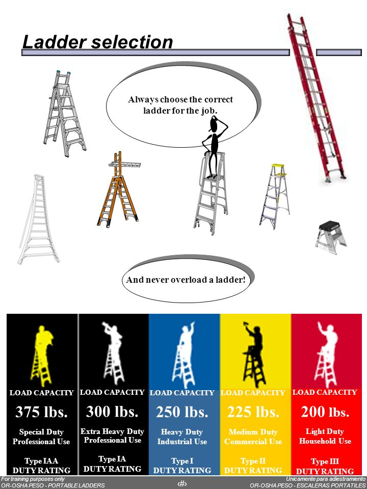 The parts of an extension ladder
