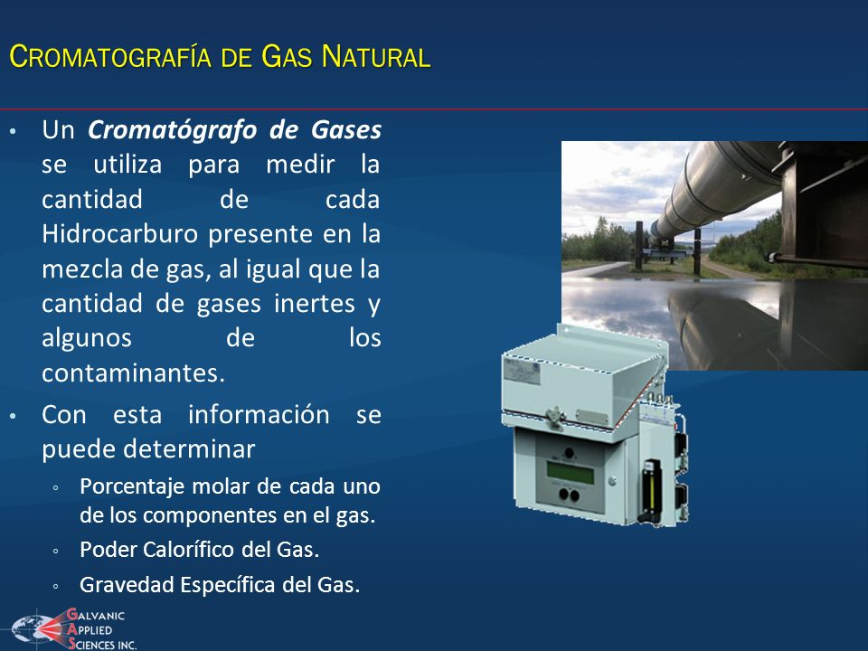 Cromatografía de Gas Natural