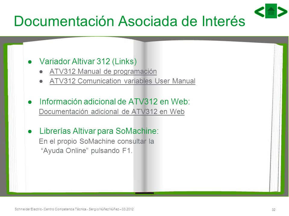 Documentación Asociada de Interés