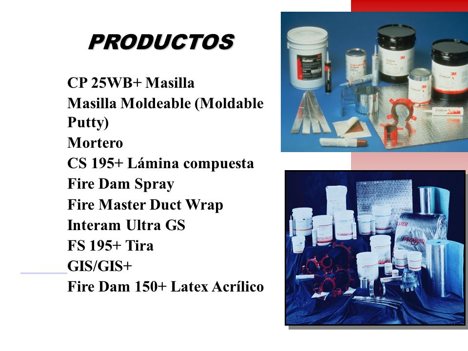 PRODUCTOS CP 25WB+ Masilla Masilla Moldeable (Moldable Putty) Mortero
