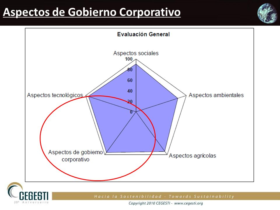 Aspectos de Gobierno Corporativo
