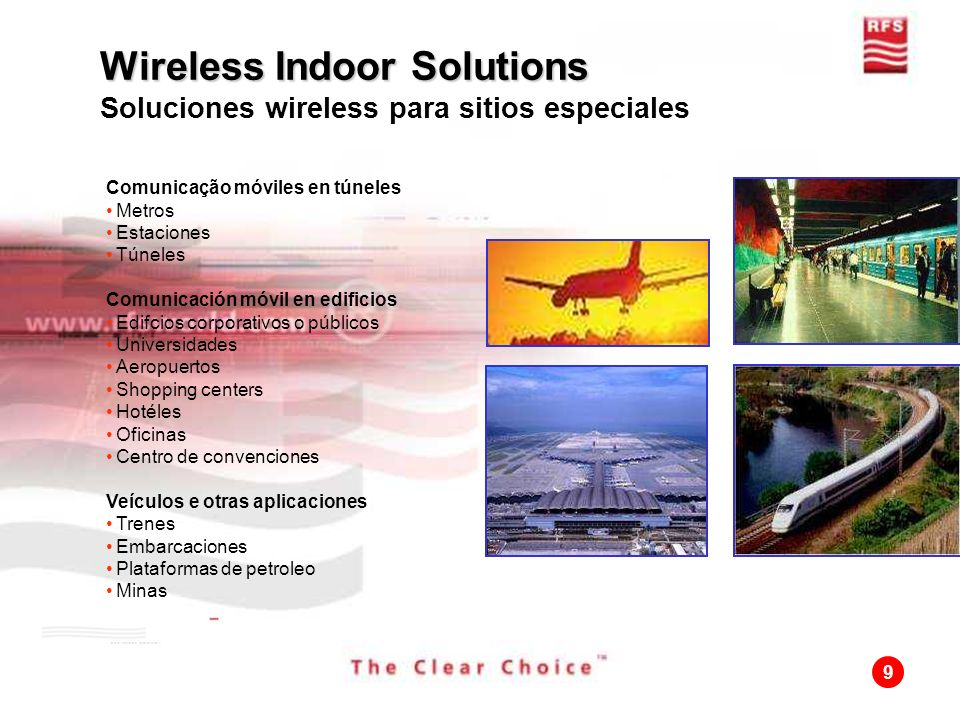 Wireless Indoor Solutions