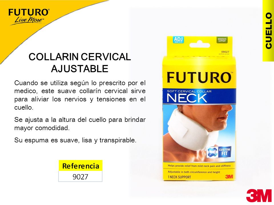 COLLARIN CERVICAL AJUSTABLE