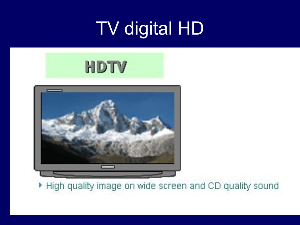 TV digital HD