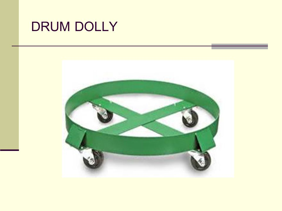 DRUM DOLLY