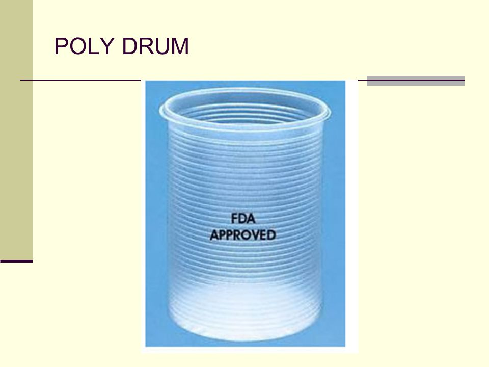 POLY DRUM