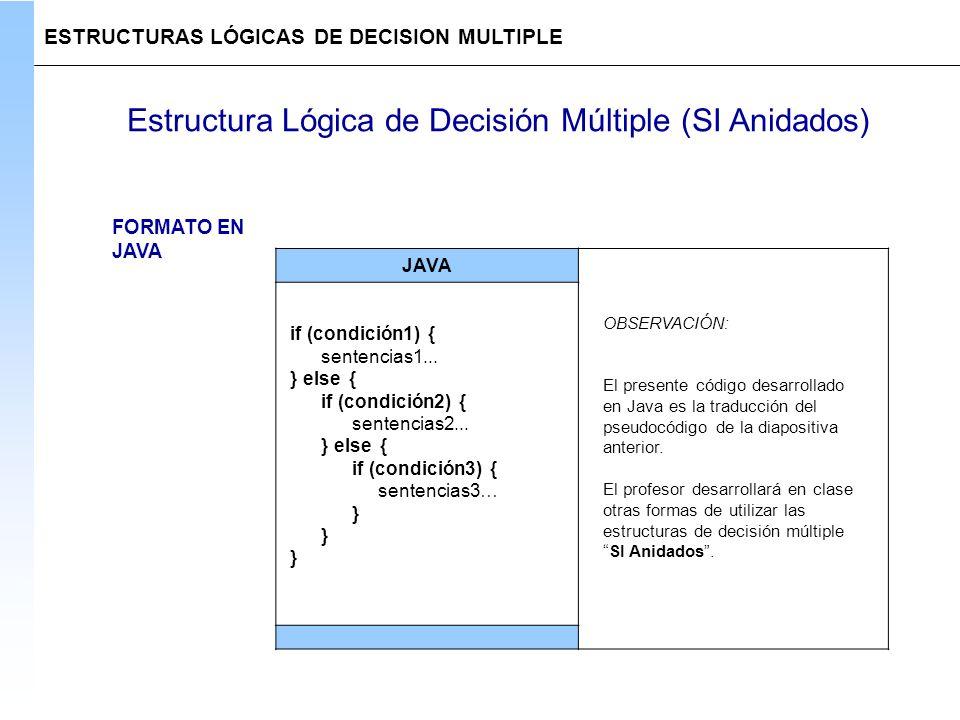 Estructuras De Decision Multiples Ppt Descargar