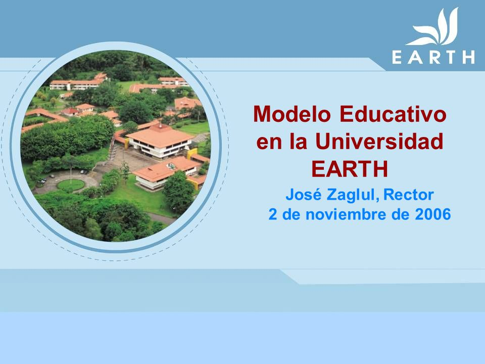 Modelo Educativo en la Universidad EARTH