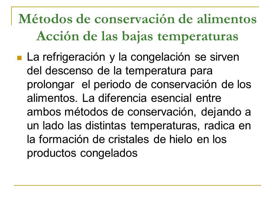 Métodos De Conservación De Alimentos Acción De Las Bajas Temperaturas Ppt Video Online Descargar