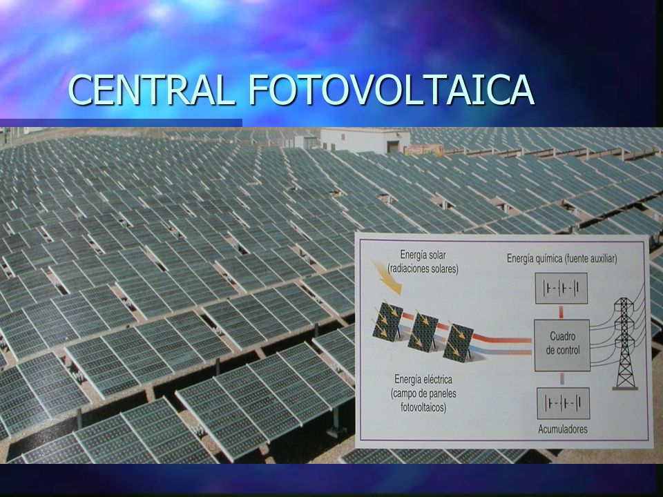CENTRAL FOTOVOLTAICA