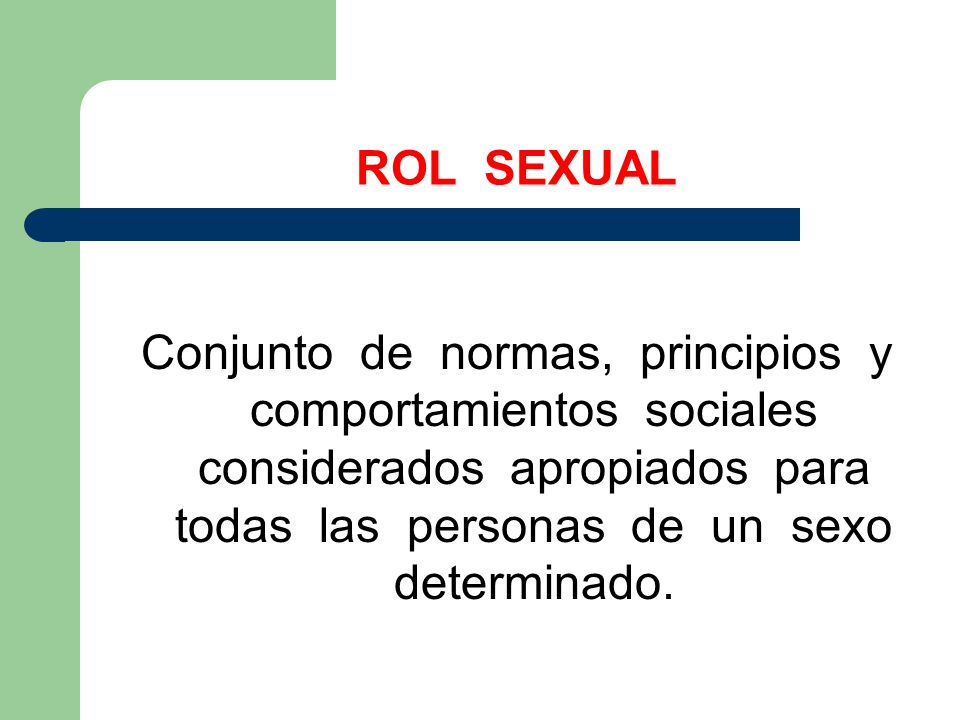 ROL SEXUAL