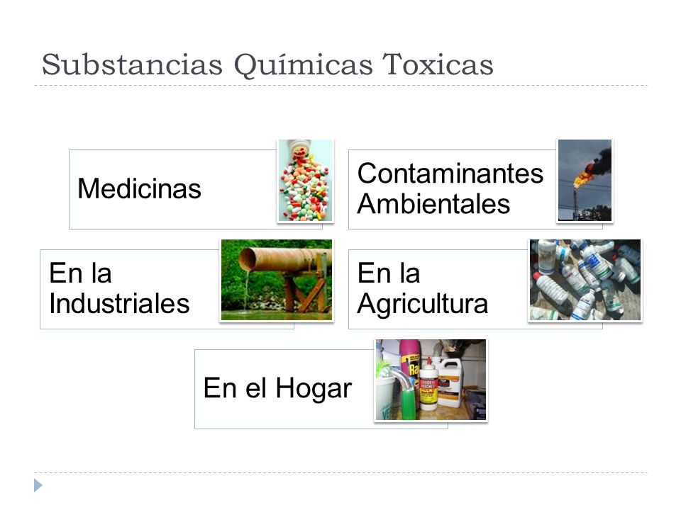 Substancias Químicas Toxicas