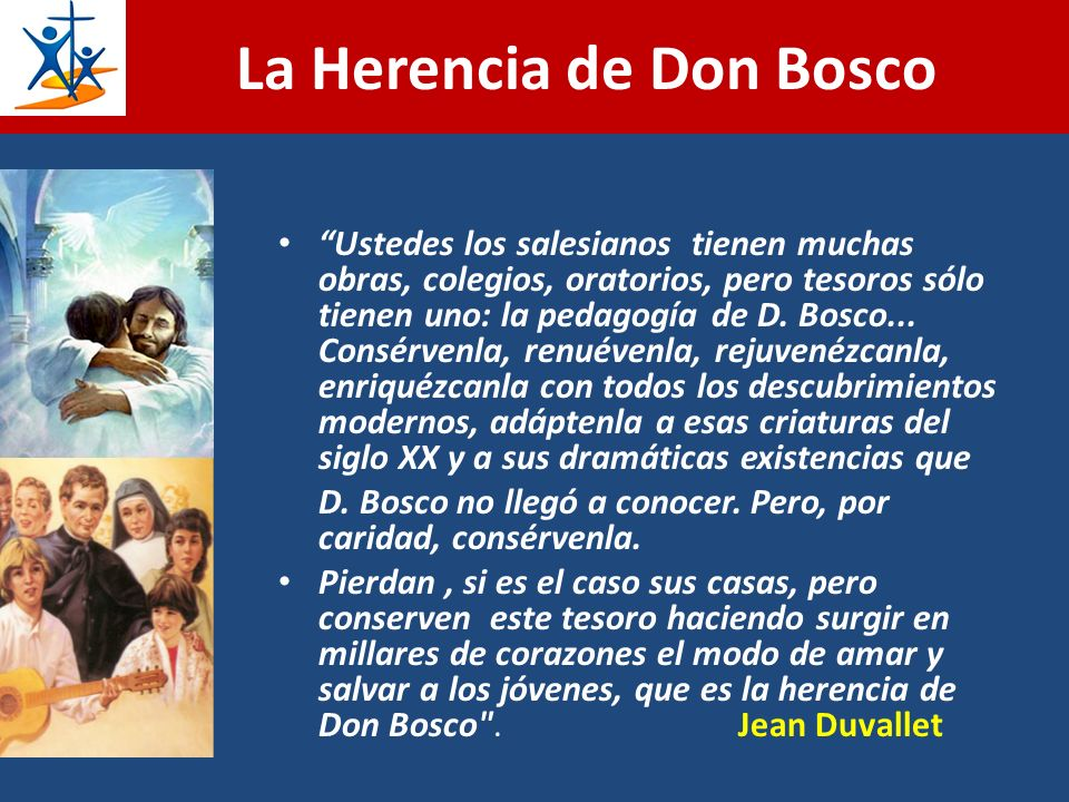 La Herencia de Don Bosco
