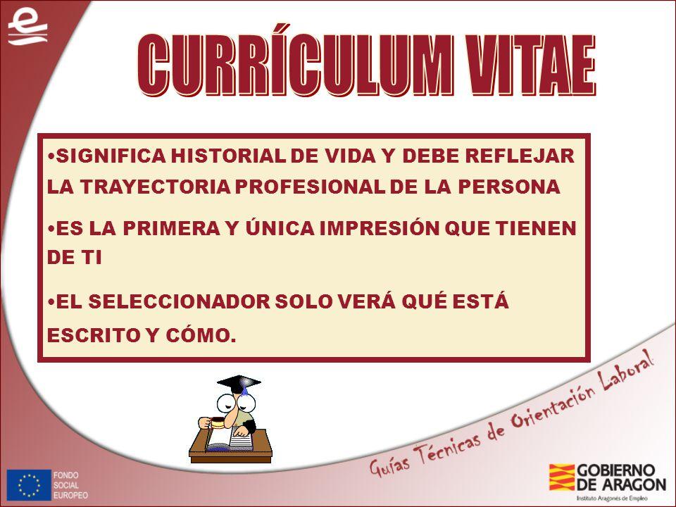 1 currculum vitae significa