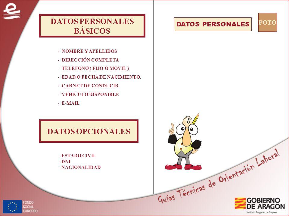 2 datos personales