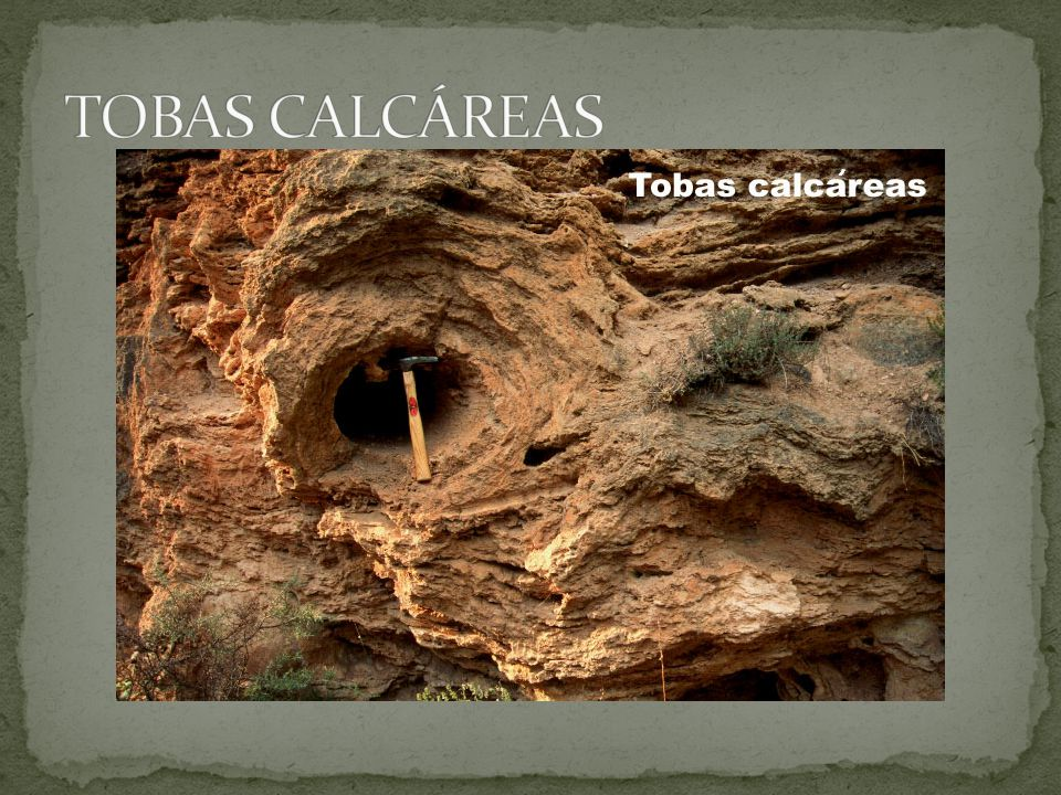 TOBAS CALCÁREAS
