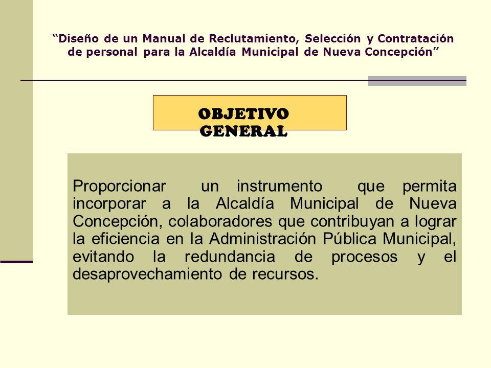 Manual de procedimiento de reclutamiento y selección. Ministerio de s….