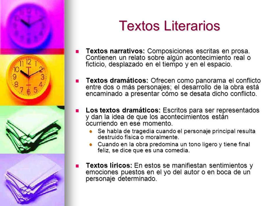 Clases De Textos Escritos Ppt Video Online Descargar