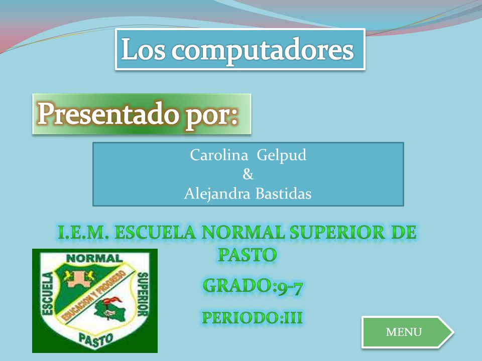 I.E.M. ESCUELA NORMAL SUPERIOR DE PASTO