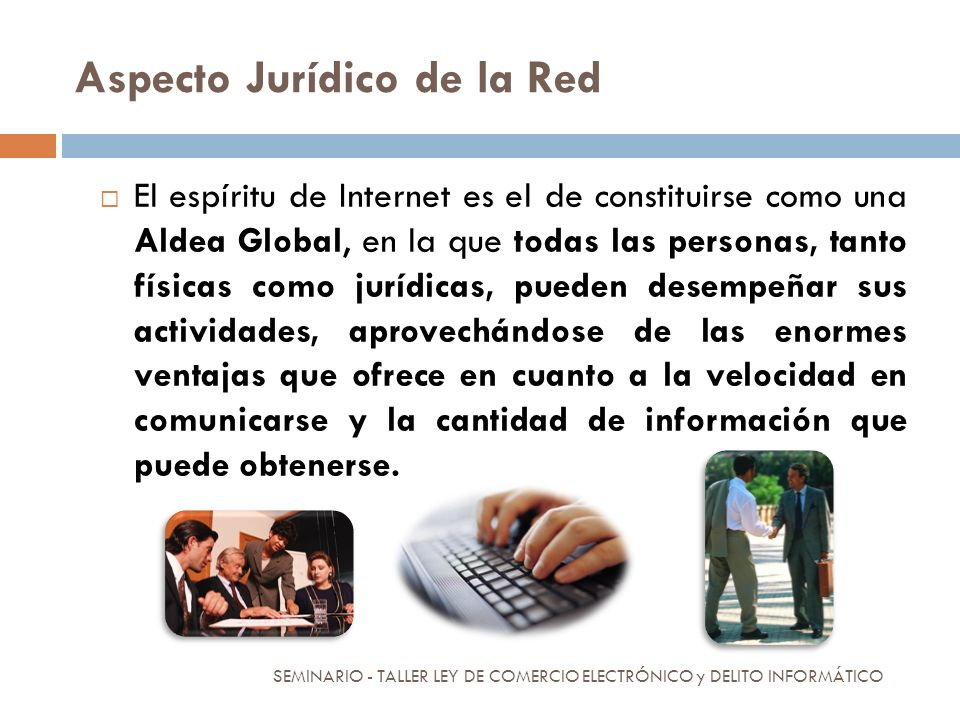 Aspecto Jurídico de la Red