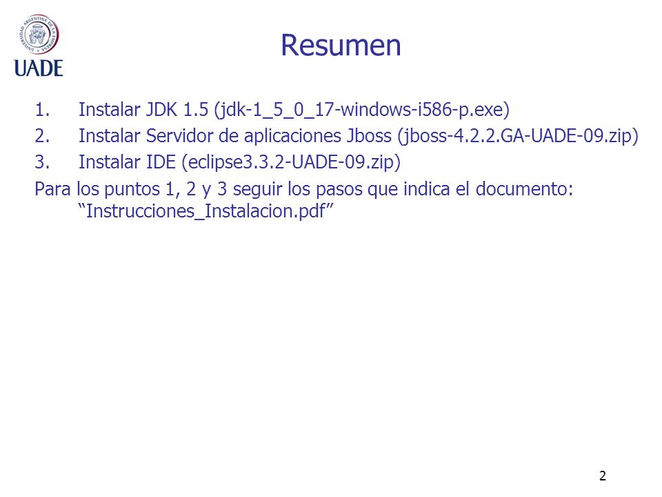 Resumen Instalar JDK 1.5 (jdk-1_5_0_17-windows-i586-p.exe)