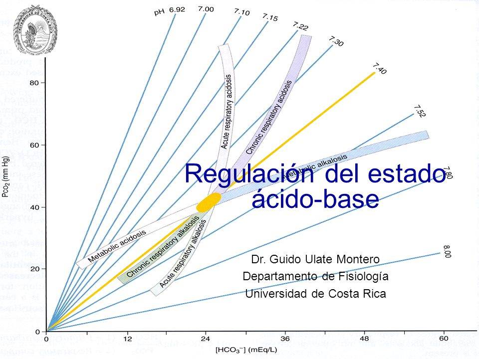Regulación del estado ácido-base