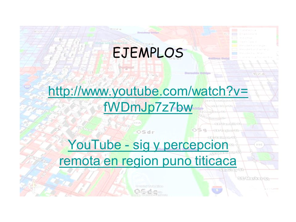 YouTube - sig y percepcion remota en region puno titicaca