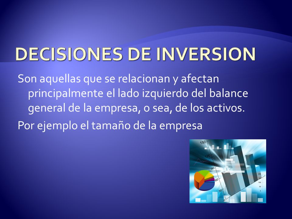 DECISIONES DE INVERSION
