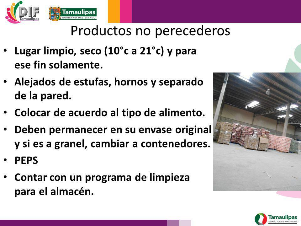 Productos no perecederos