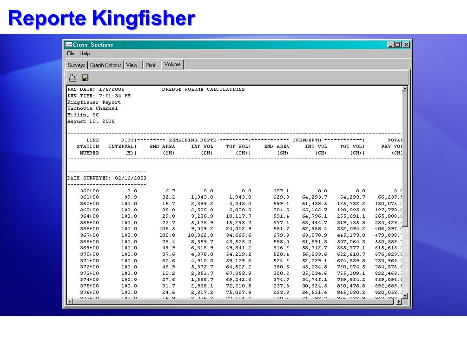 Reporte Kingfisher